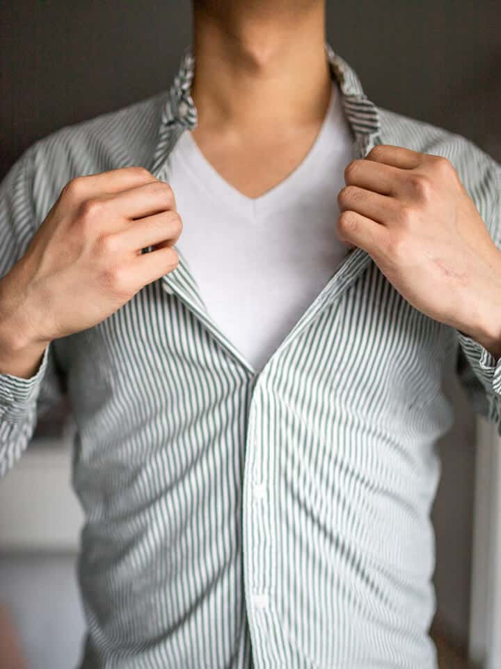 Should Men Wear Undershirts?