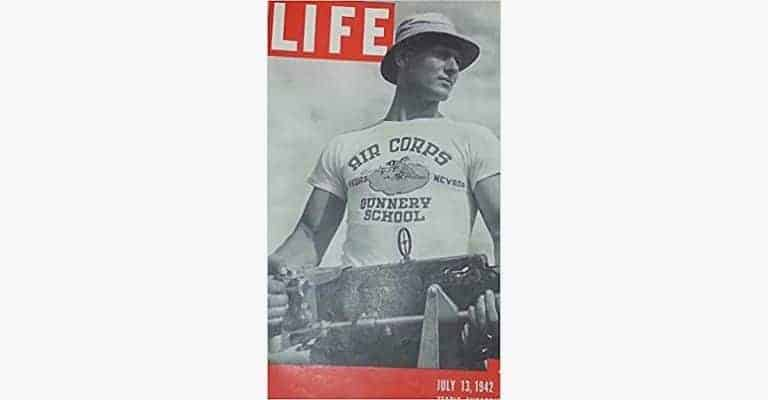 Man wearing a t-shirt on Life Magazine's cover.