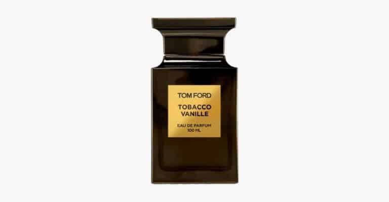 Tom Ford Tobacco Vanille cologne.