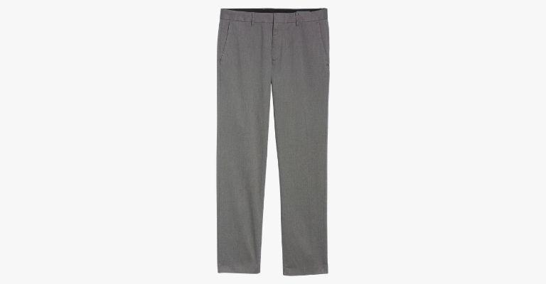 Grey dress pants.