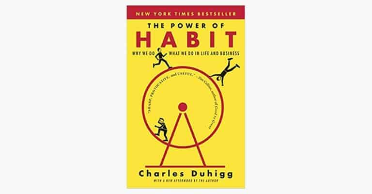 "Book called ""The Power of Habit"""