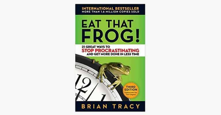 "Book called ""Eat That Frog!"""
