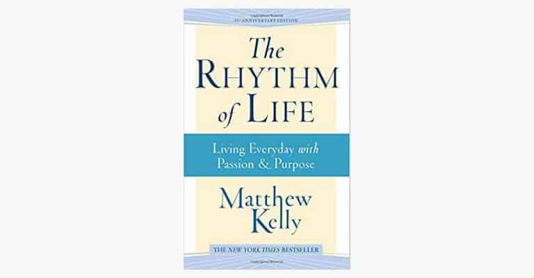 "Book called ""The Rhythm of Life""."