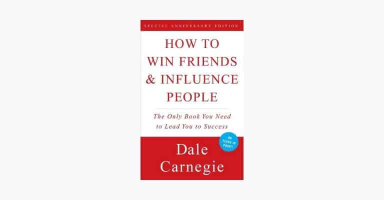 Book cover of How to Win Friends & Influence People by Dale Carnegie.