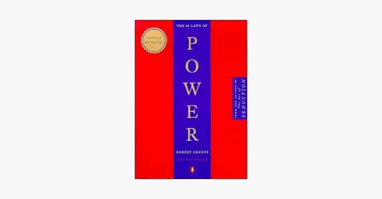 Book cover of The 48 Laws of Power by Robert Greene.