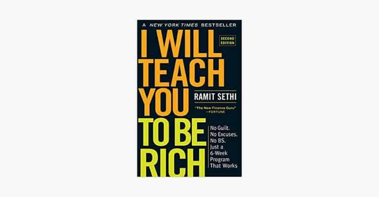 Book cover of I Will Teach You to Be Rich by Ramit Sethi.
