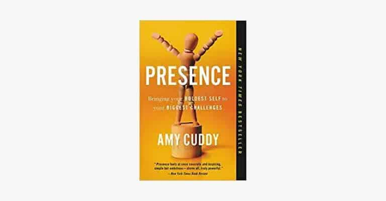 Book cover of Presence by Amy Cuddy.