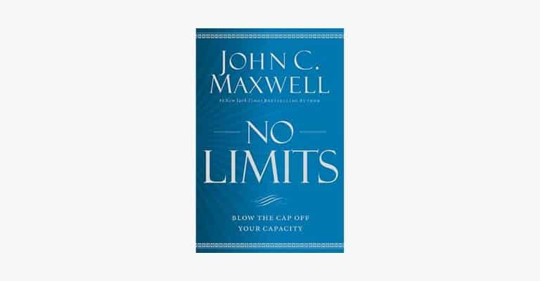 Book cover of No Limits by John Maxwell.