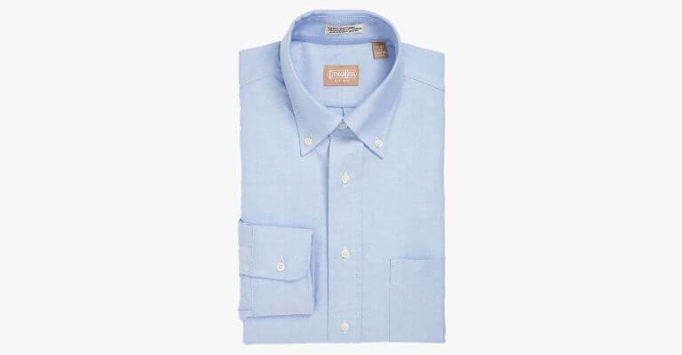 Light blue dress shirt.