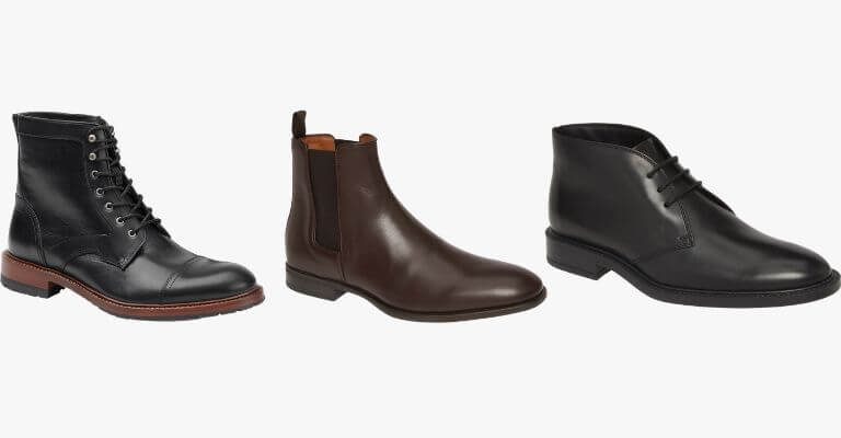 Smart casual boots for men.