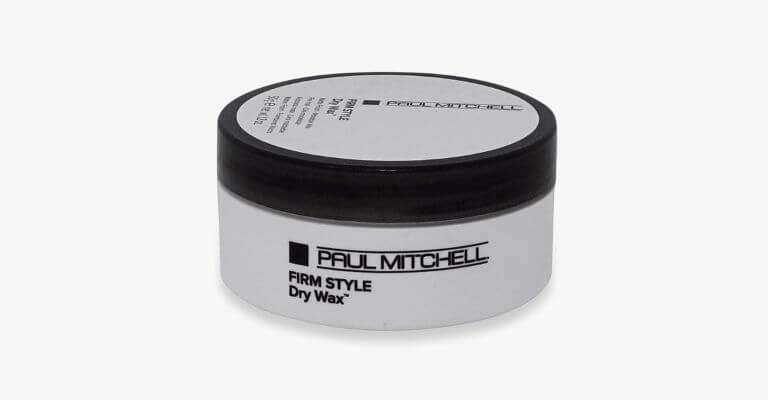 Paul Mitchell hair wax.