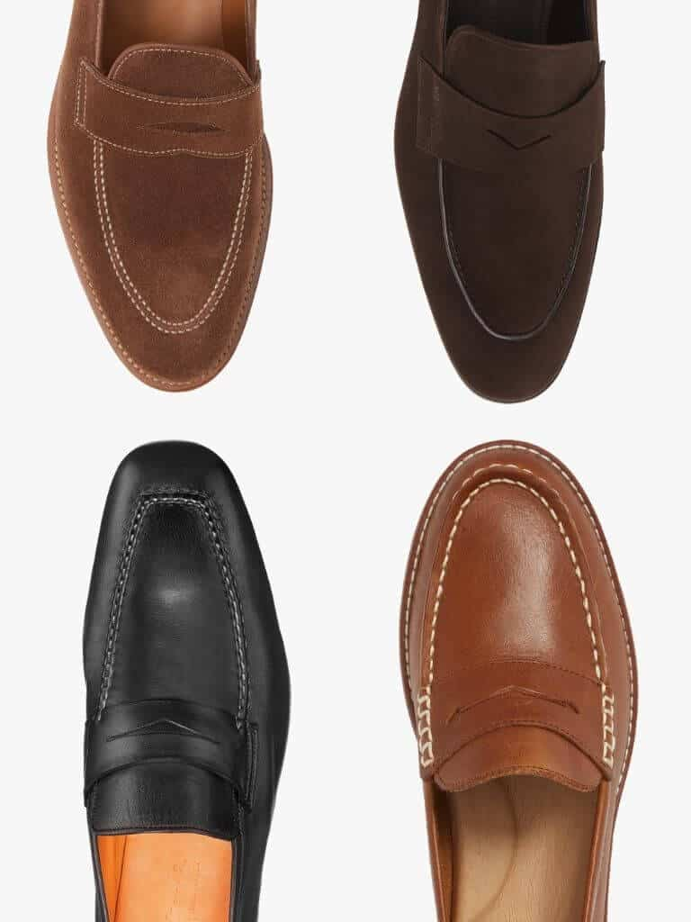 4 penny loafers.