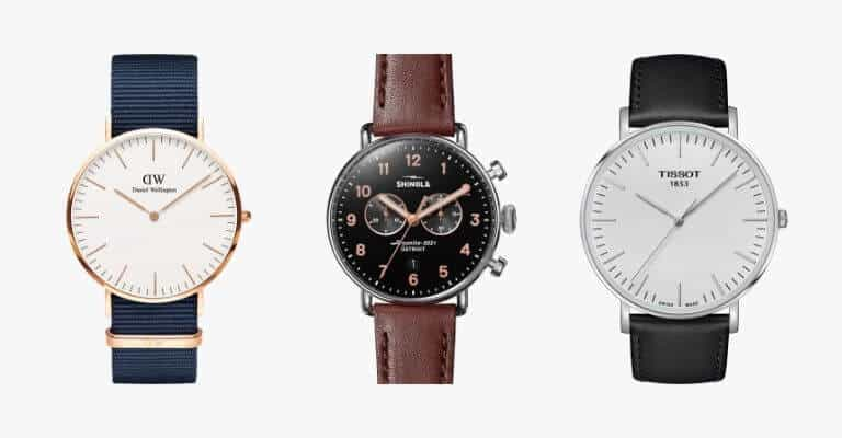 Watches for smart casual attire.