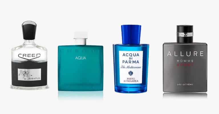 Four spring fragrances.