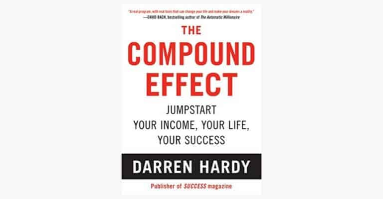 The Compound Effect book cover.