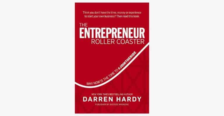 The Entrepreneur Roller Coaster book cover.