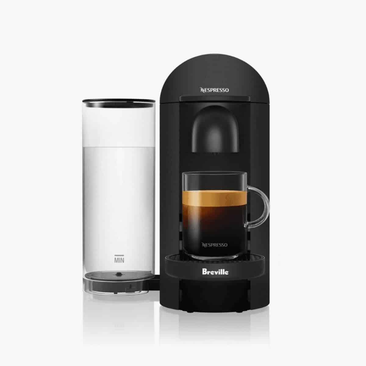 Breville-Nespresso coffee machine.