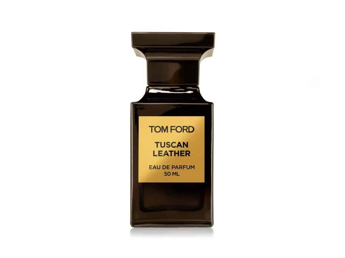 Tom Ford Tuscan Leather fragrance.