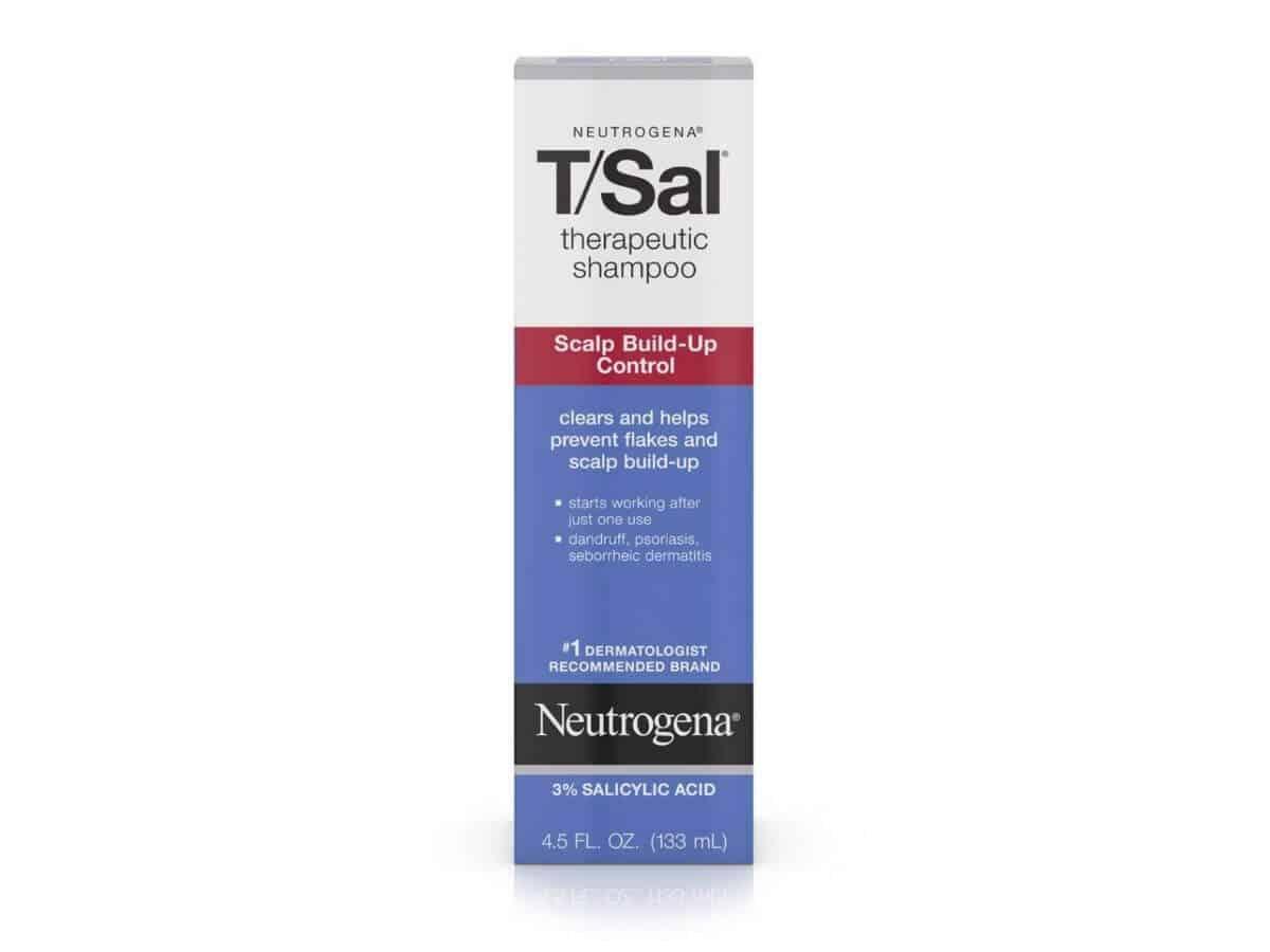 Box of Neutrogena shampoo.