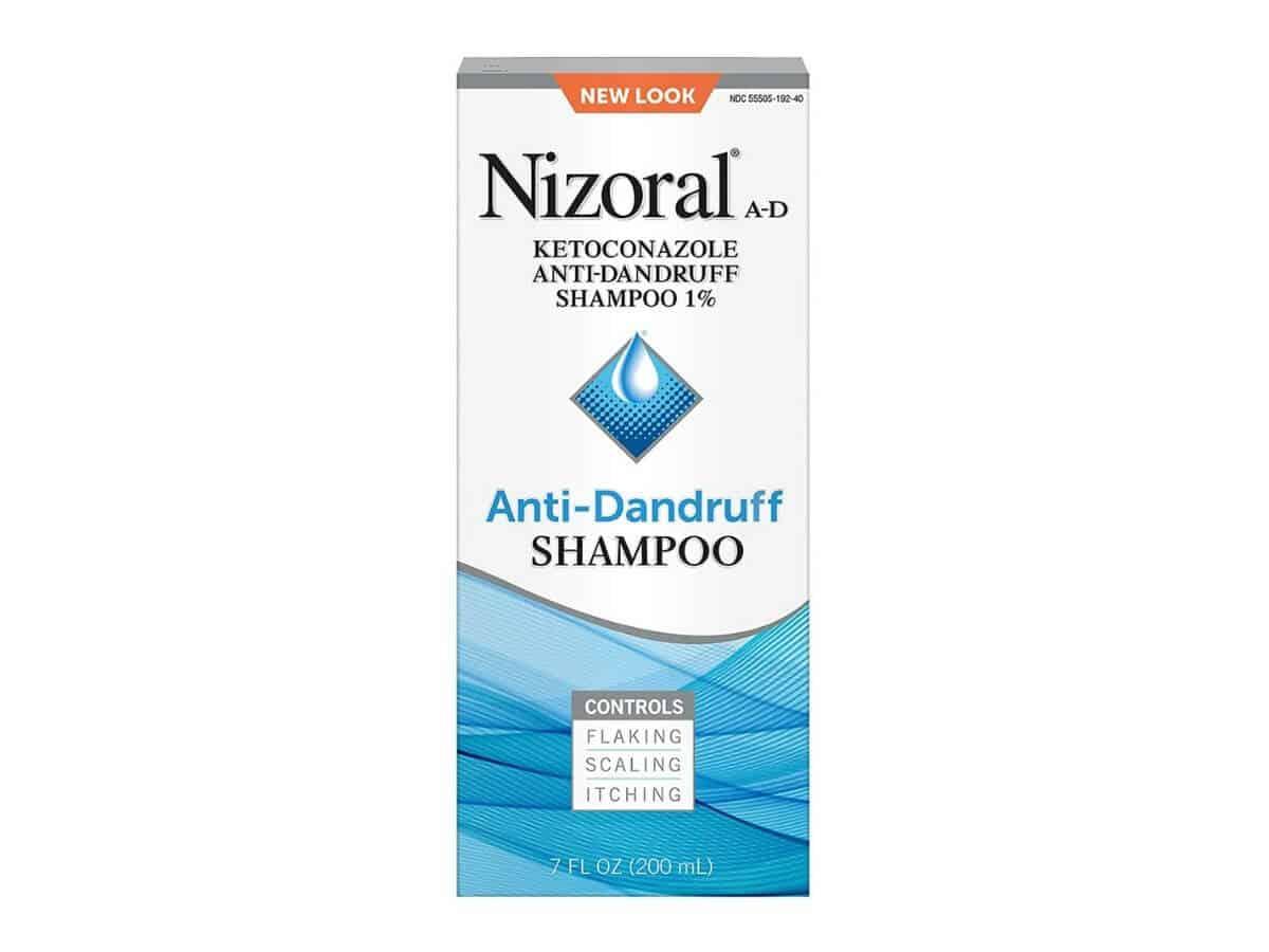Nizoral A-D shampoo.