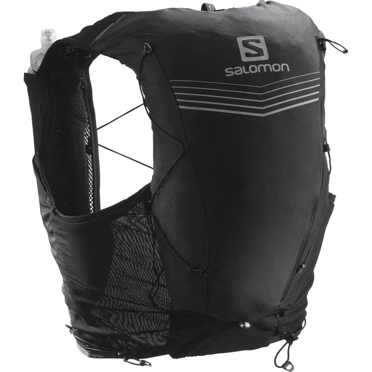Black Salomon hydration pack.