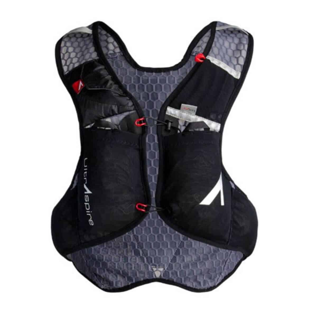 Black UltrAspire hydration vest.