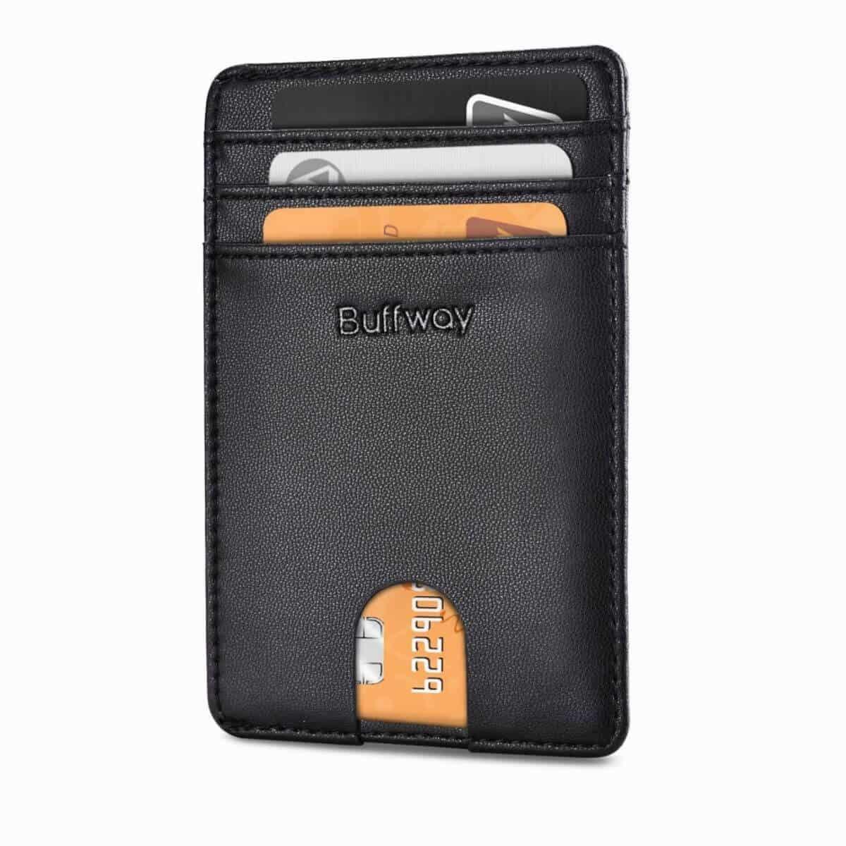Buffway RFID blocking wallet.