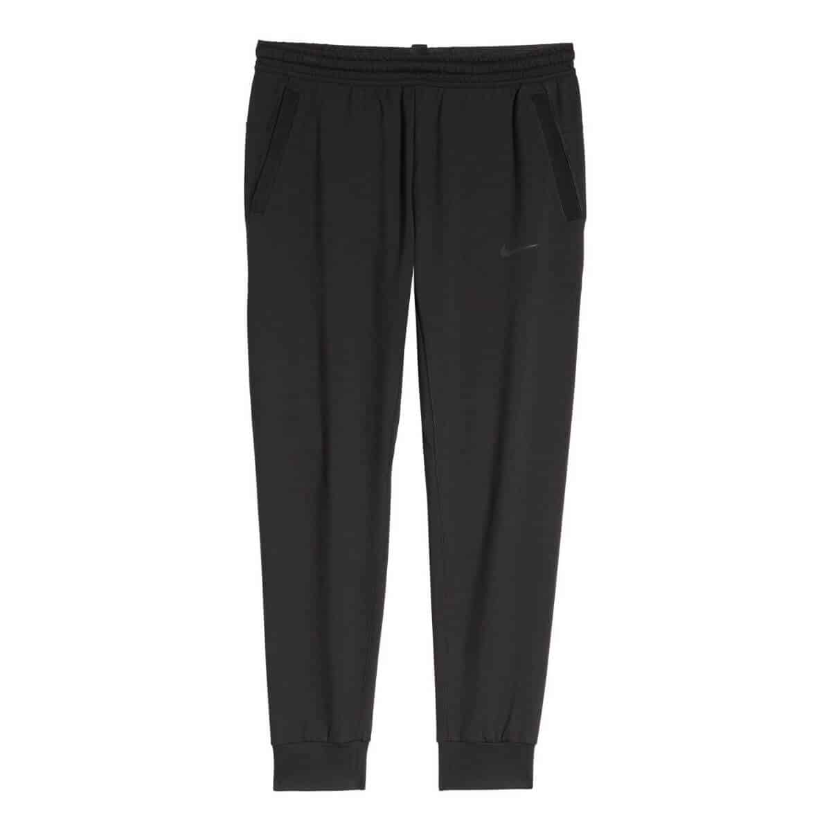Black activewear pants.