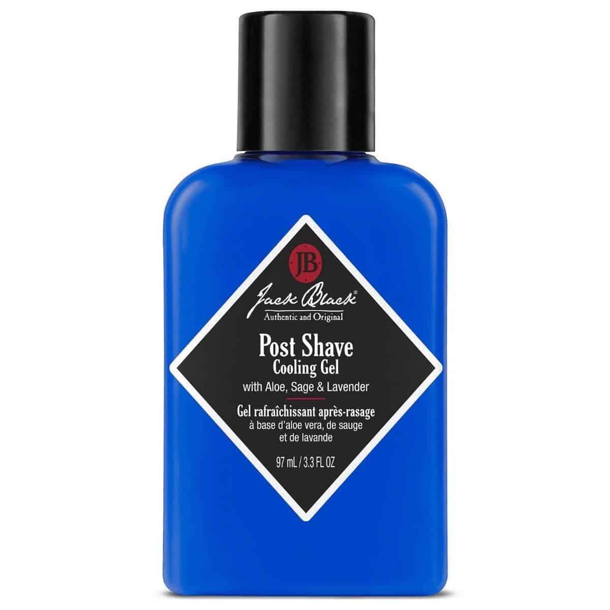 Jack Black aftershave gel bottle.