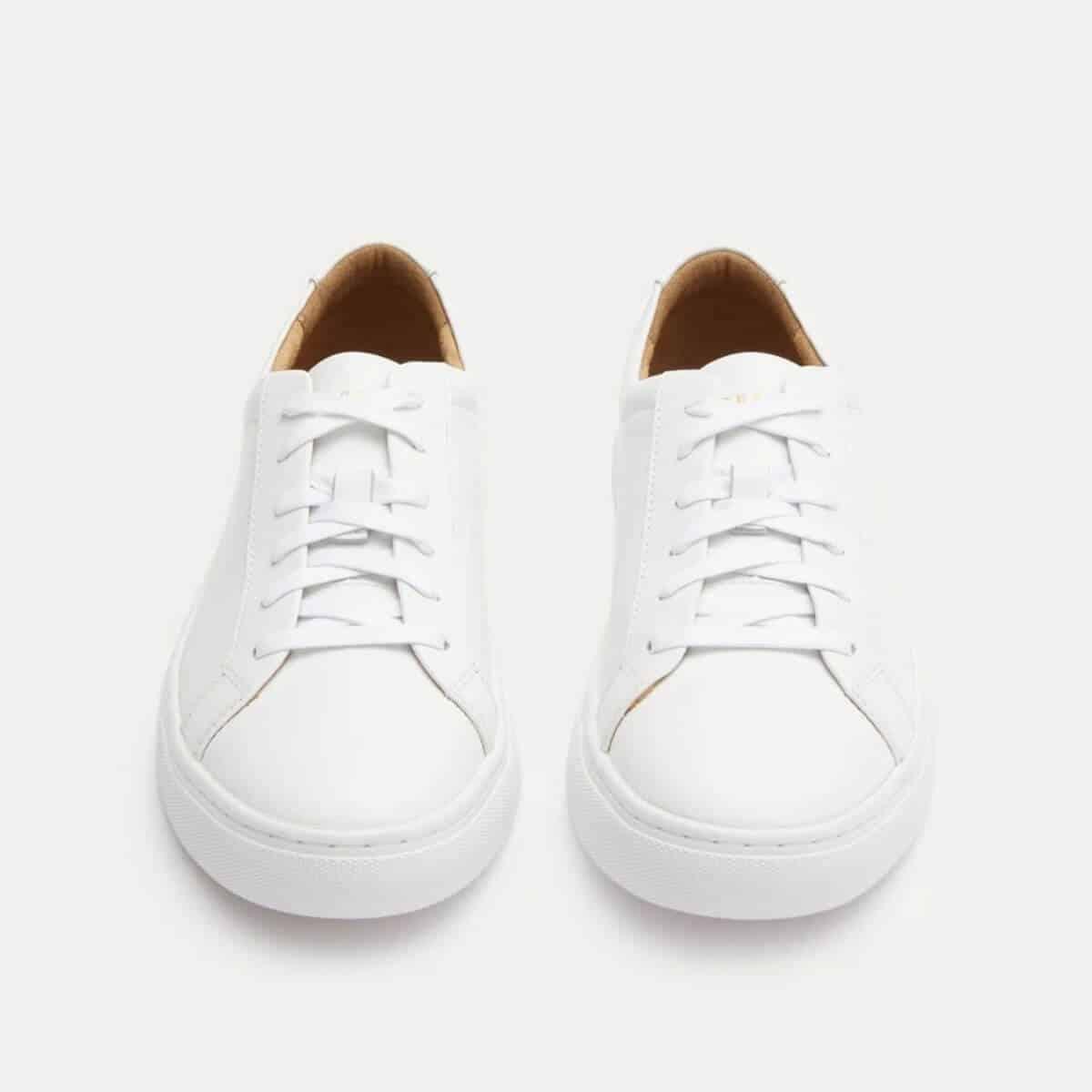New Republic Kurt white sneakers.