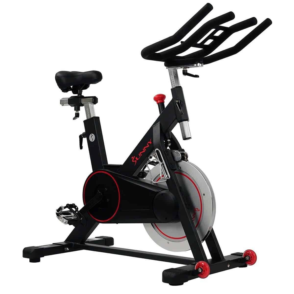 Sunny Health and Fitness indoor cycling bike.