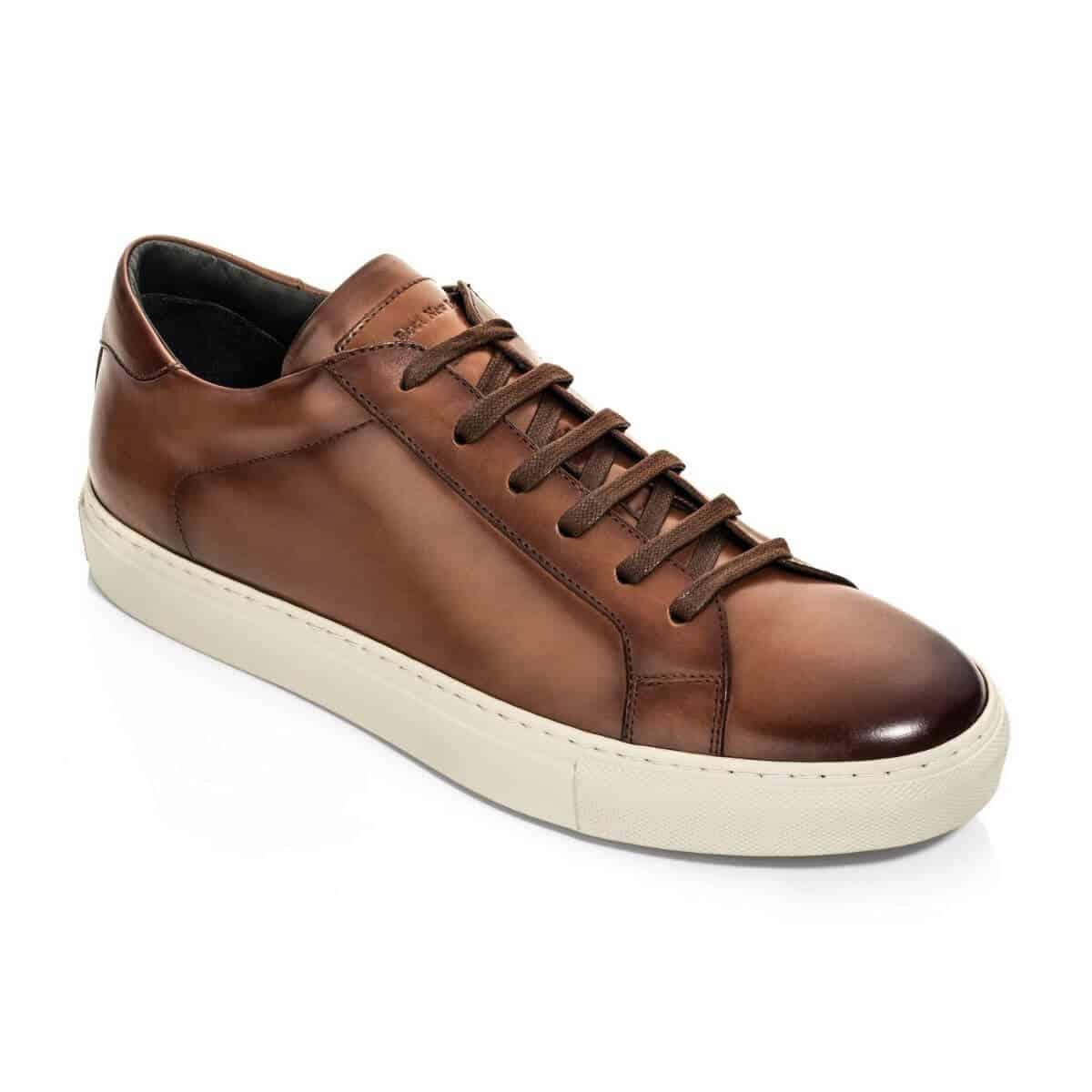 To Boot Castle Cognac dress sneaker.