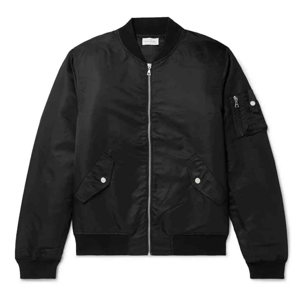 Black John Elliott bomber jacket.