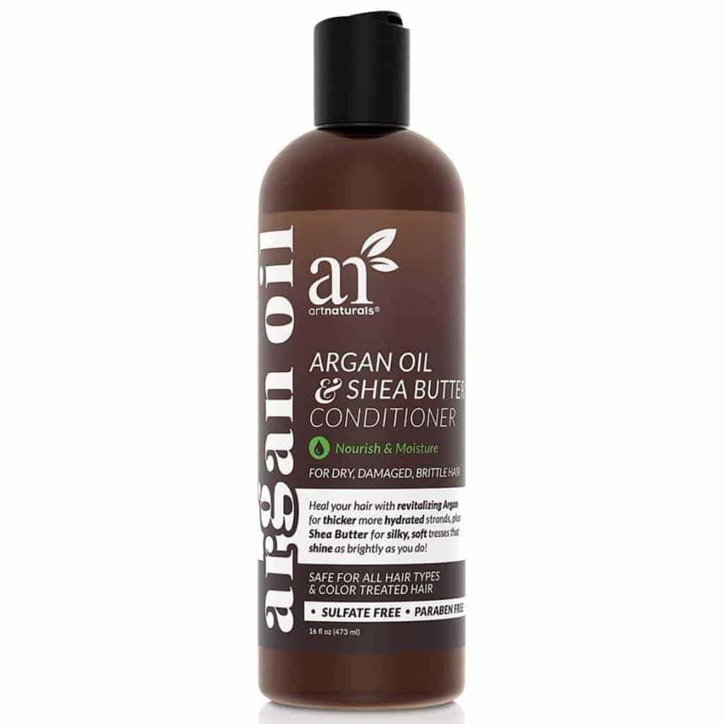 Bottle of ArtNaturals hair conditioner.