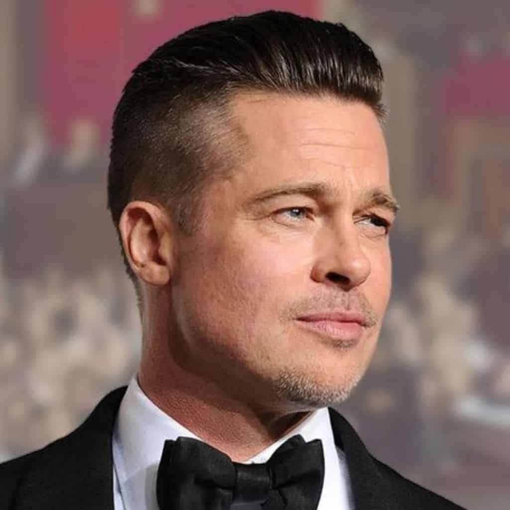 Headshot of Brad Pitt.