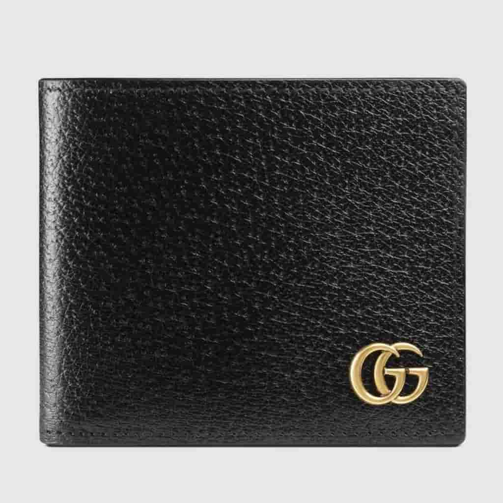 Gucci GG Marmont leather wallet.