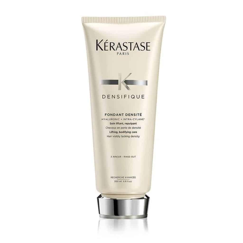 Bottle of Kerastase hair conditioner.