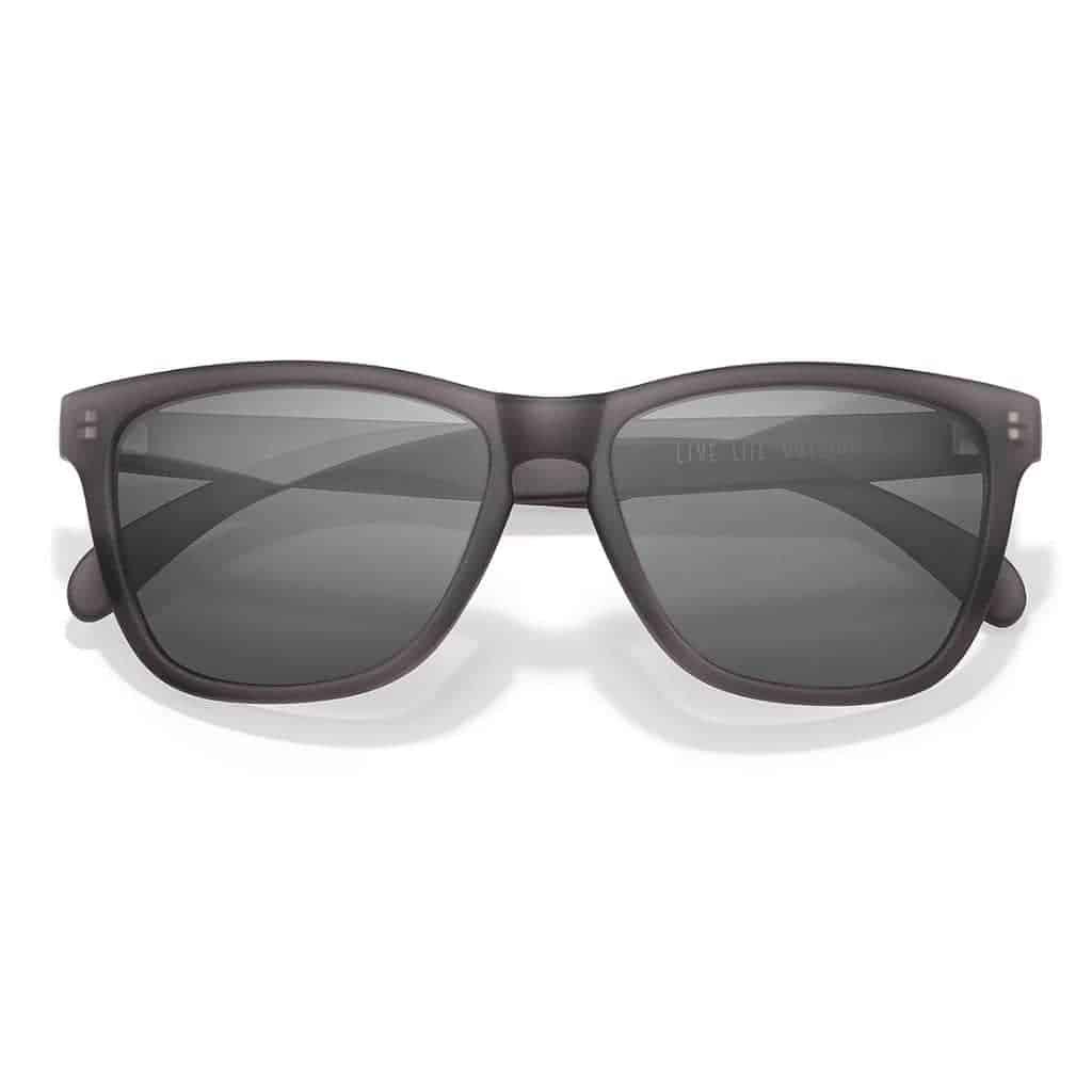 Sunski grey and black sunglasses.