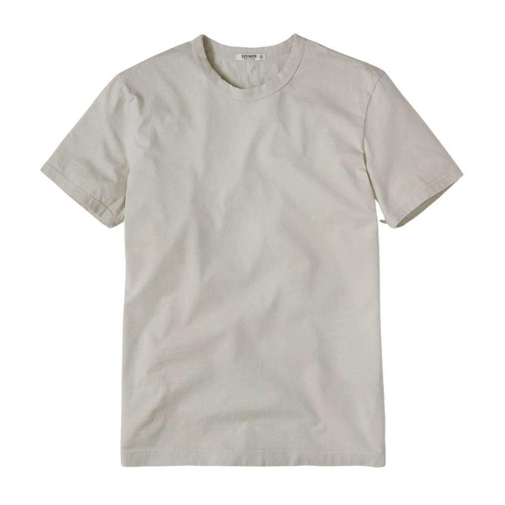 Beige t-shirt.