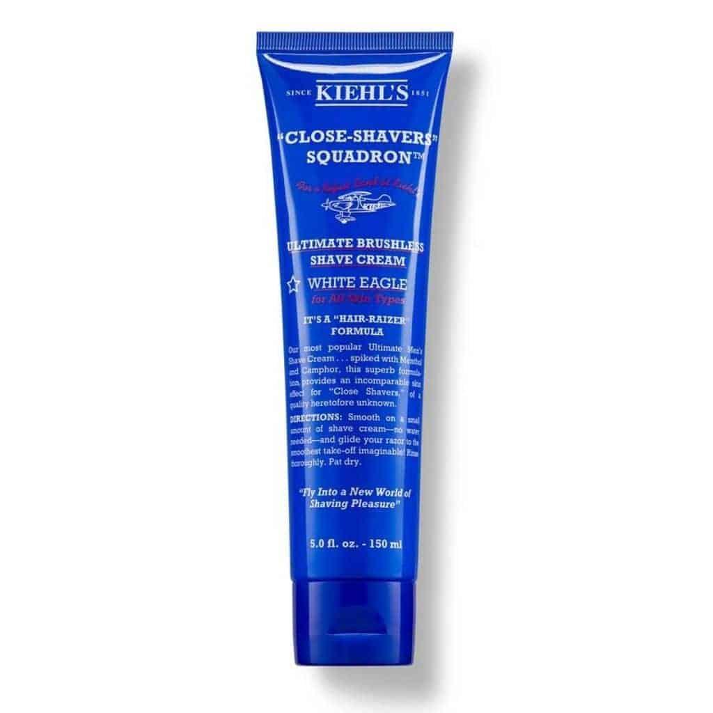 Tube of Kiehl's shaving cream.