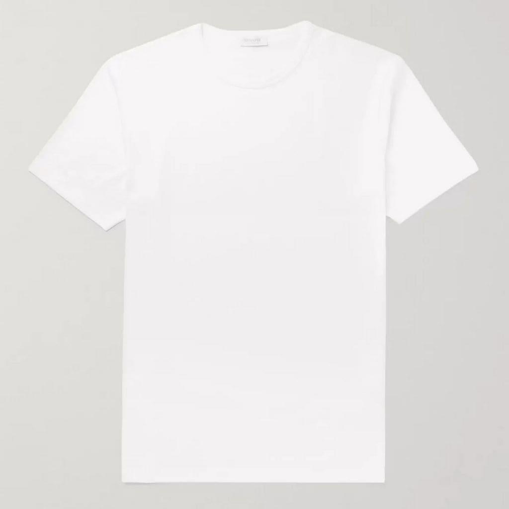Sunspel white t-shirt.
