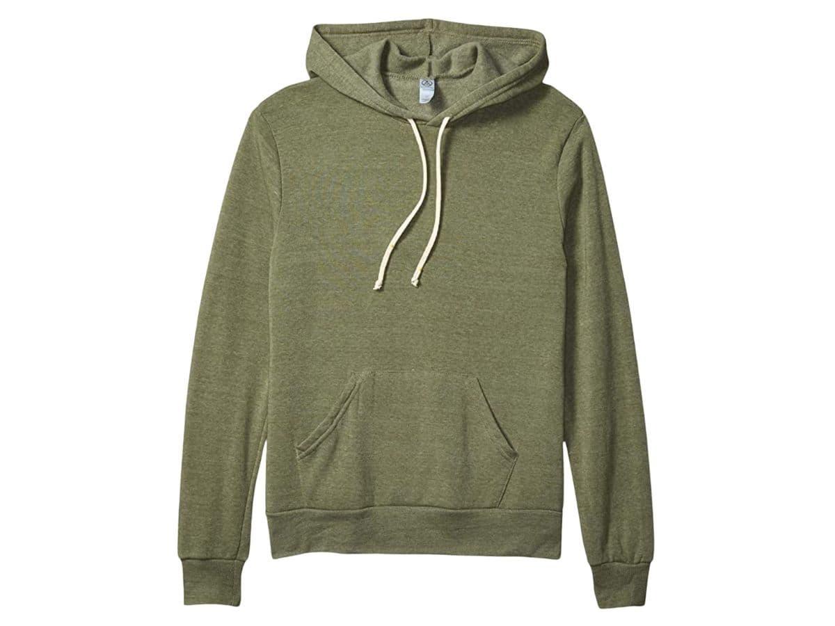 Alternative Apparel green hoodie.