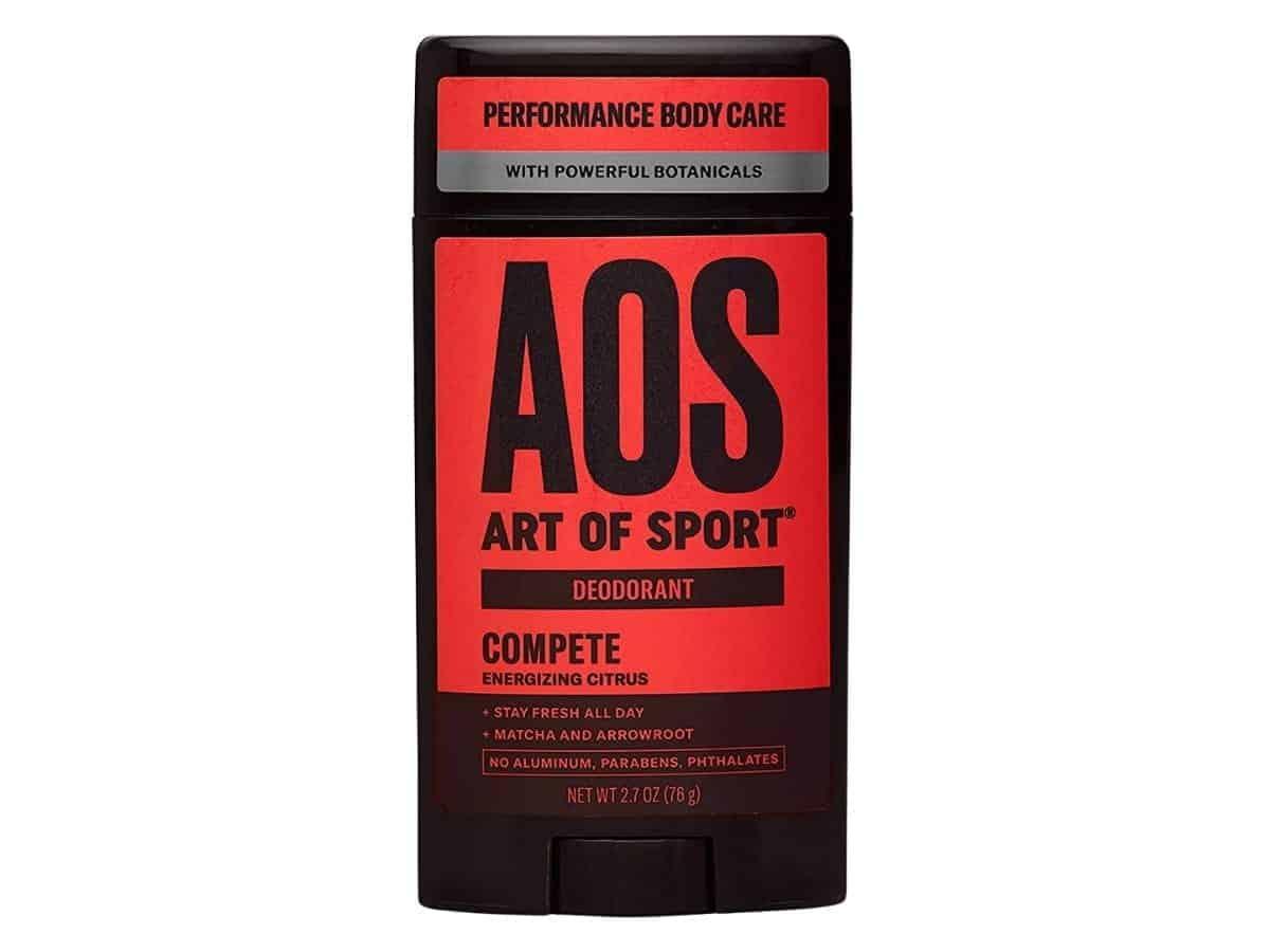 Art of Sport deodorant.