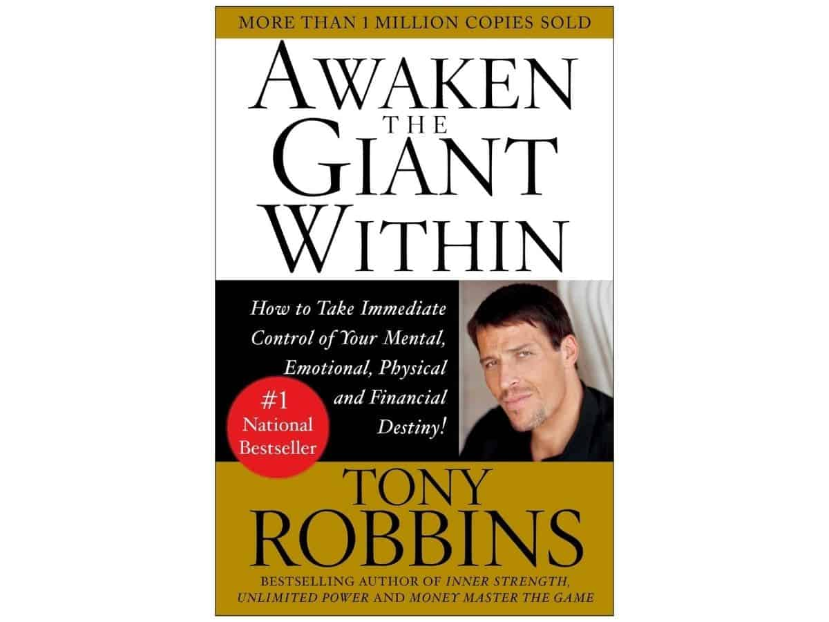 Awaken the Giant Within book cover.