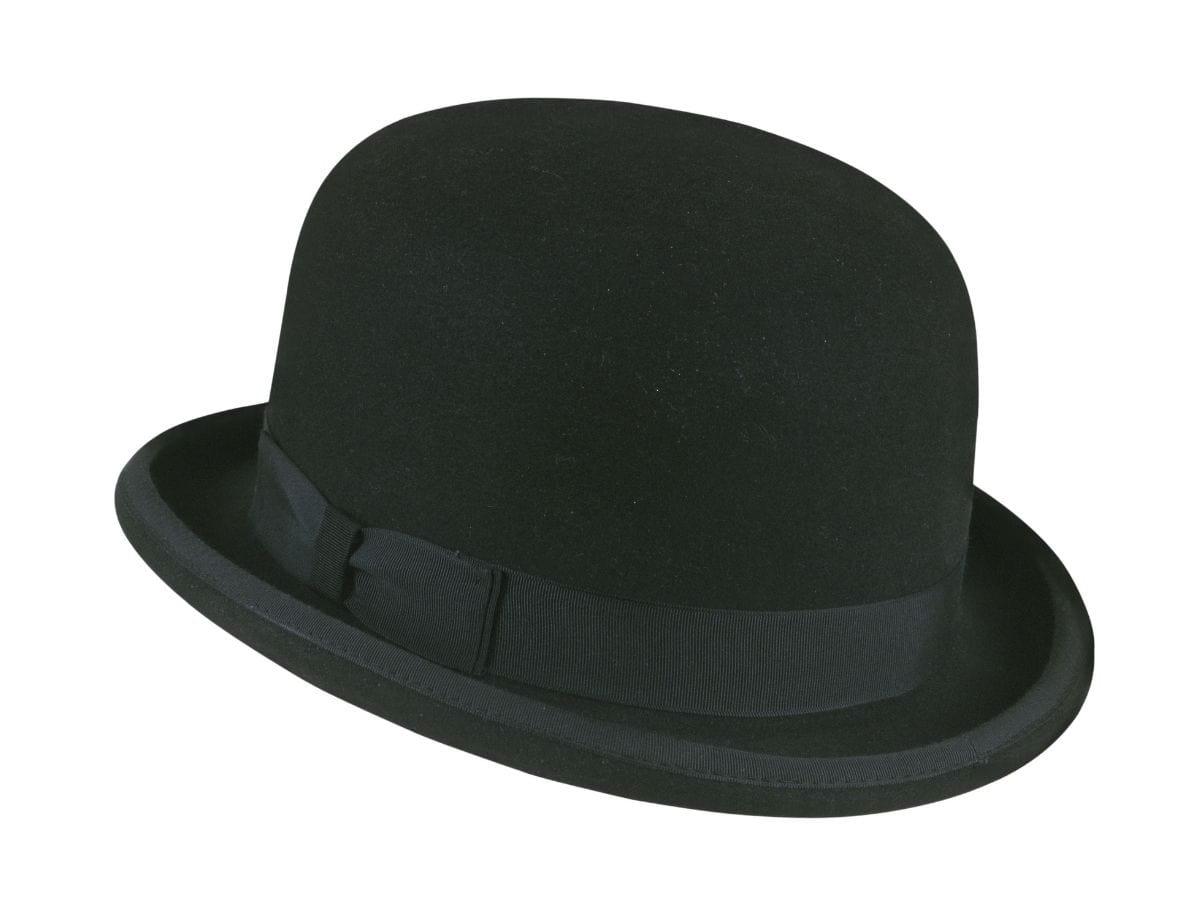 Derby hat.