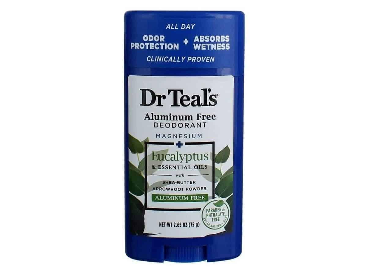 Dr Teal's deodorant.