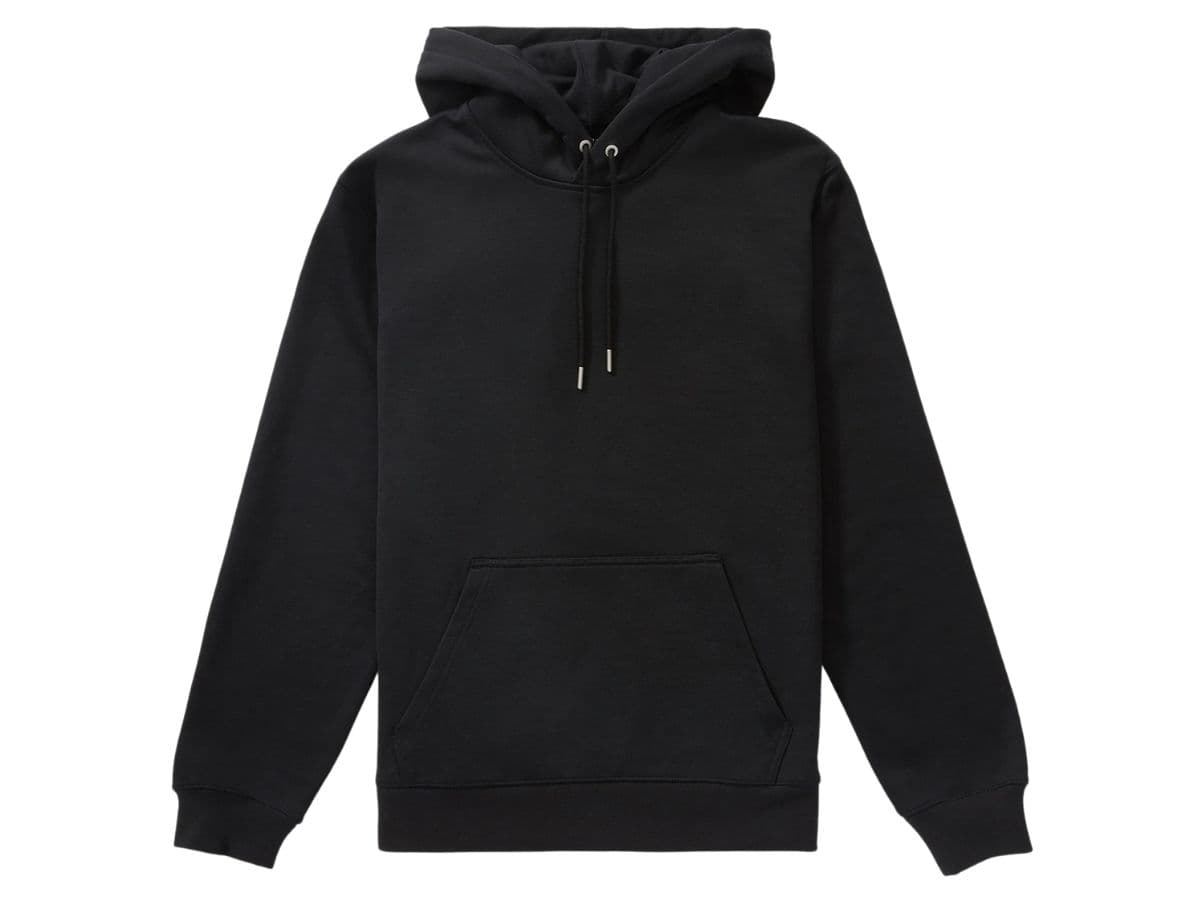 Everlane black hoodie.