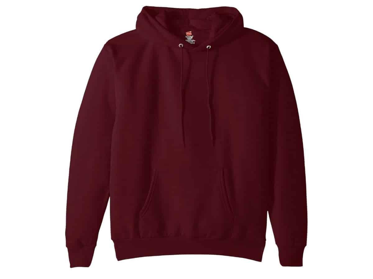 Hanes EcoSmart hoodie.