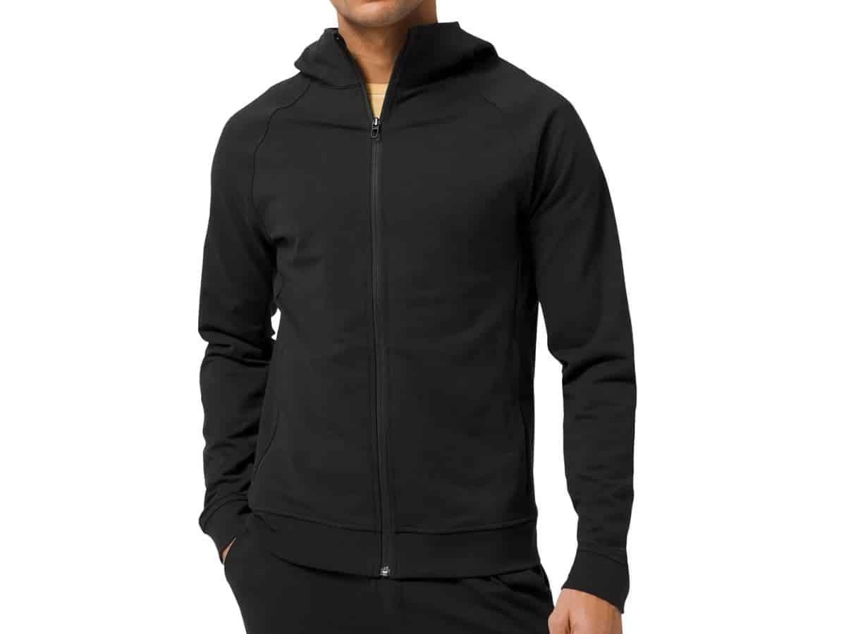 Lululemon full-zip hoodie.
