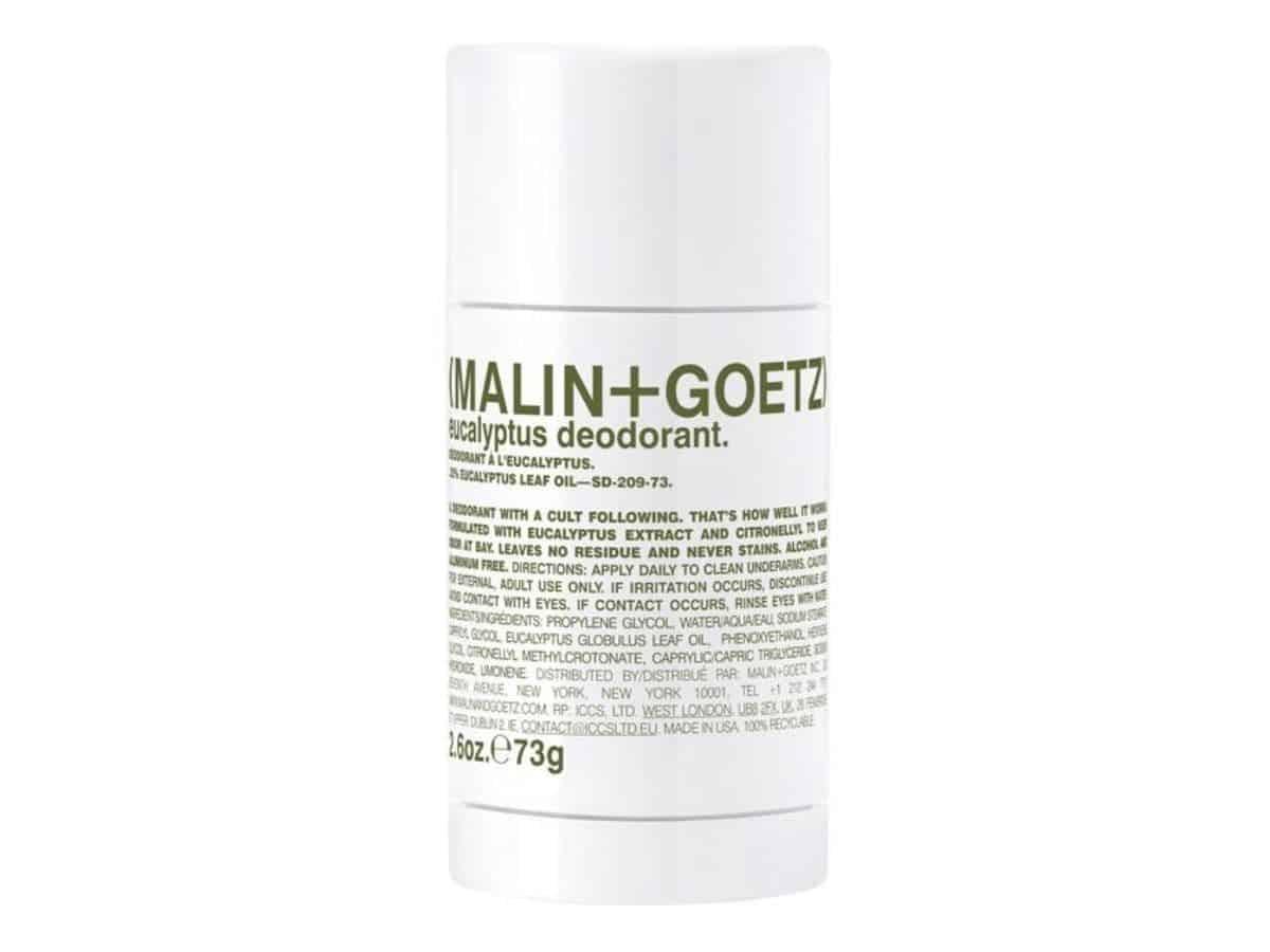 Malin + Goetz deodorant.